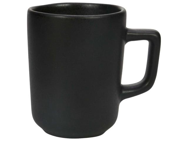 mat zwart espresso kop