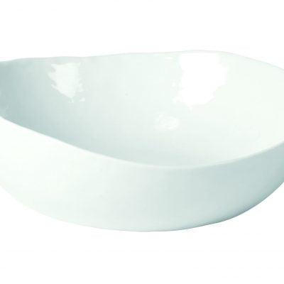 Diep bord - Wit porselein // Pomax