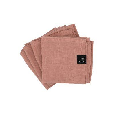 Himla servet roze 4 pack 1080 S