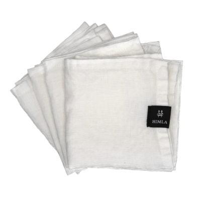 himla servet wit set van 4 sp