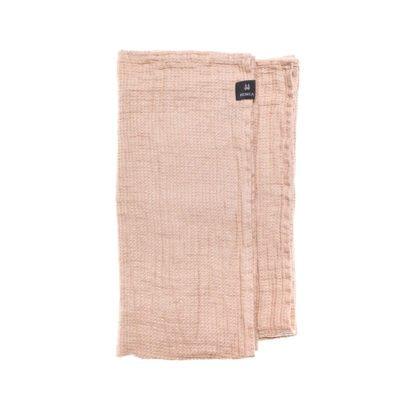 te koop Linnen handdoek - Nude-Licht roze // Himla (set van 2)