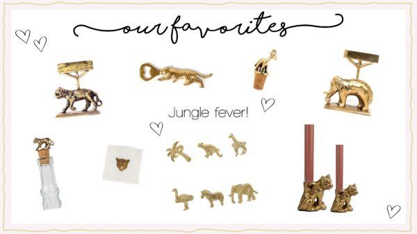 our fav week banner jungle fever items