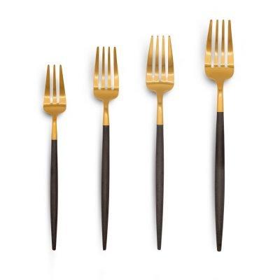 Cutipol Goa Black gold forks