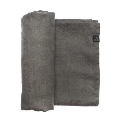 Linnen tafelkleed - Charcoal-Donker grijs // Himla