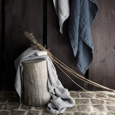 Handdoek - Grijs // Himla