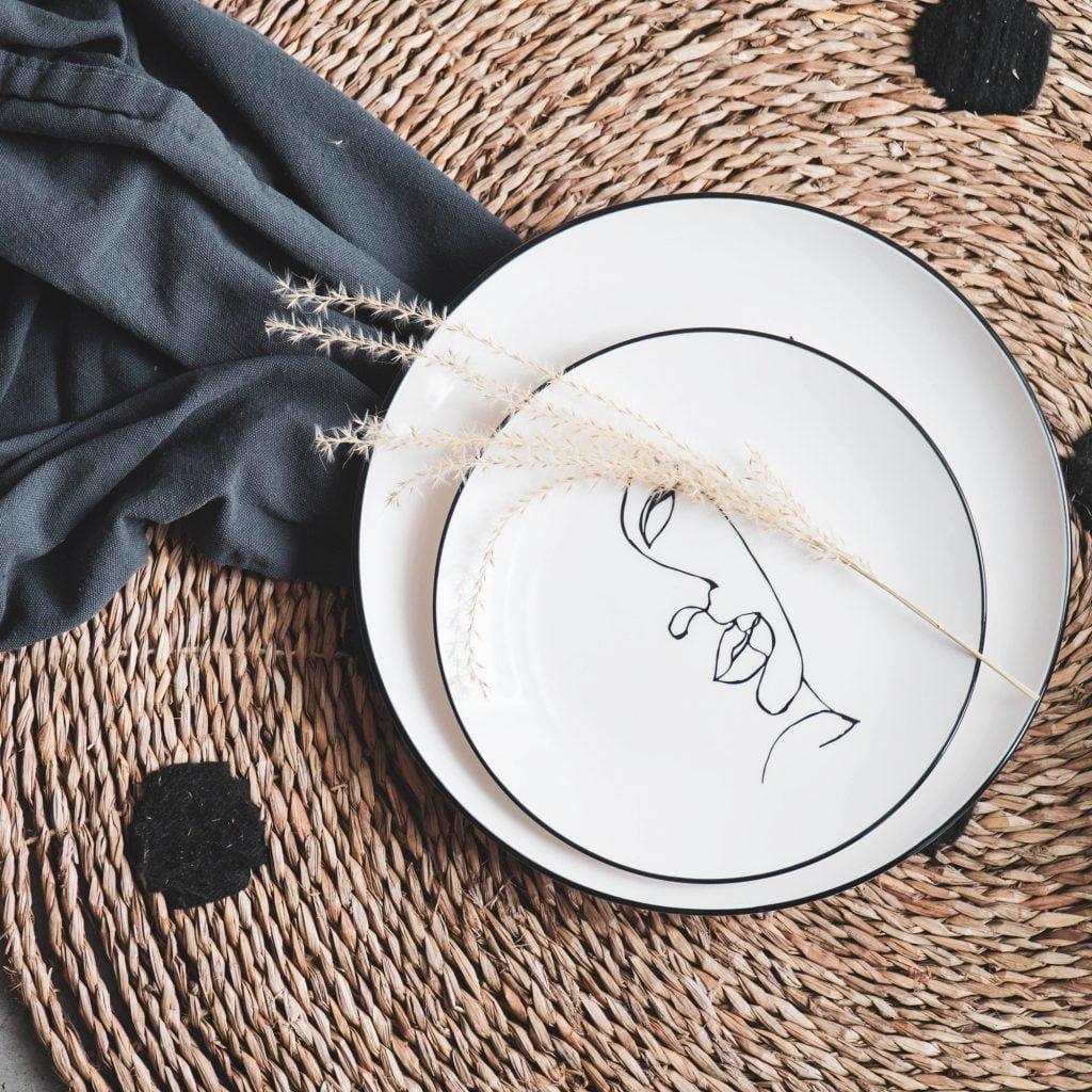 Ontbijtbord - Gezicht // Housevitamin