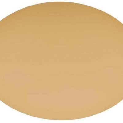 Placemat Ovaal - Camel // Leatherlook