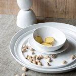 Dinerbord rond - Wit porselein // Pomax