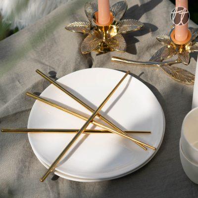 Chopsticks Goud (2-delig)