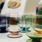 Waterglas Goblet - Rose (set van 6)