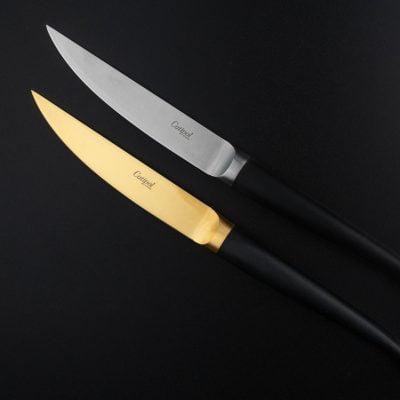 RIB - Zwart/Goud - Steakmes // Cutipol